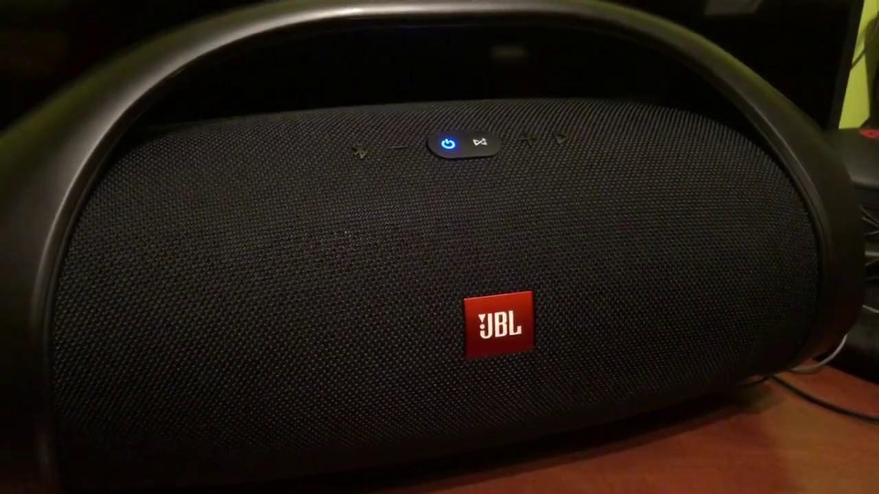 JBL Boombox Problem (Strange Noise)