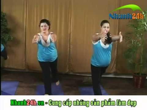 Yoga cho bà bầu part2  - http://Nhanh24h.vn