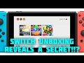 Recent Switch unboxing confirms cross console download from e-shop!!!