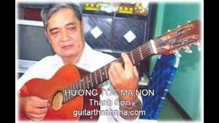 HƯƠNG TÓC MẠ NON - Guitar Solo, Arr. Thanh Nhã