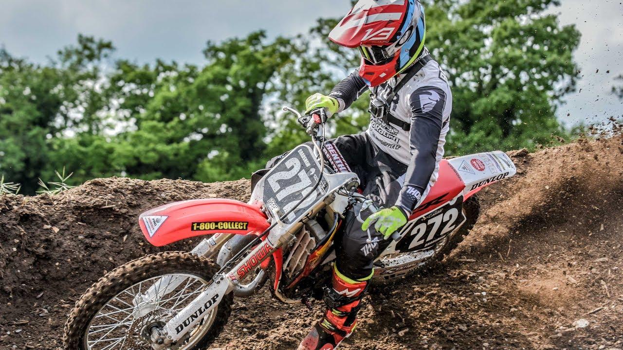Motocross honda cr 125 fully tapped youtube - Image de moto cross 125 ...