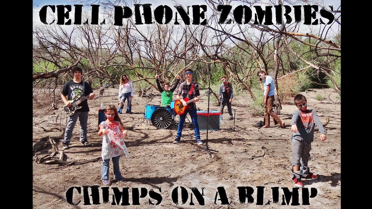 Coab Chimps On A Blimp Cell Phone Zombies Chimps On A