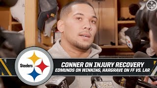 """James Conner confident he will play on Thursday vs. Browns: """"I've been making a lot of progress"""""""