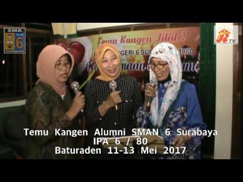 Temu Kangen SMA 6 Surabaya IPA 6 / 80 Part 3 Baturaden Purwokerto