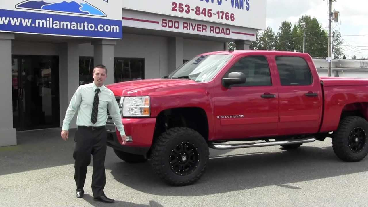2008 Chevrolet Silverado Lifted from Milam Mazda and Truck Country ...
