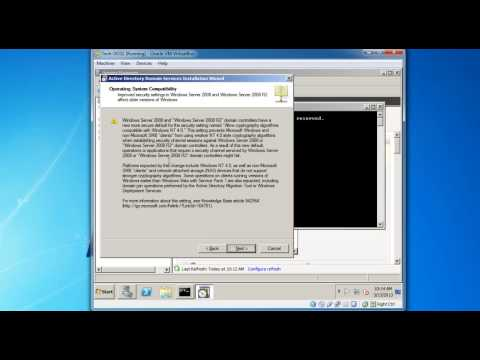 How to add a Secondary Domain Controller to existing domain