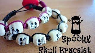 DIY Spooky Skull Bracelet ¦ The Corner of Craft