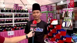 Songkok JDT & Bendera Daerah Di Johor Jadi Pilihan Di Aidilfitri