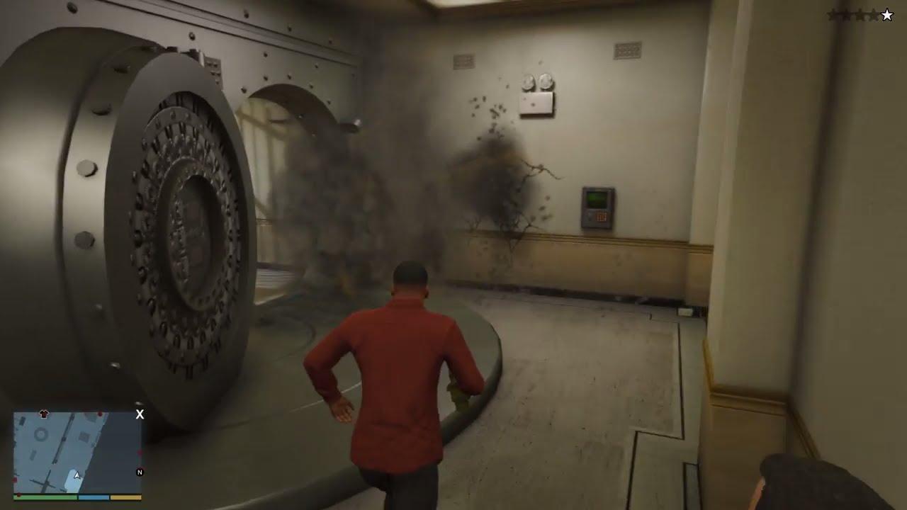 GTA 5 – Ba nhân vật tập hợp đi cướp ngân hàng lớn nhất thành phố | ND Gaming