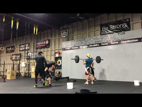 """Stack your Sticks"" WOD at Maritime CrossFit"