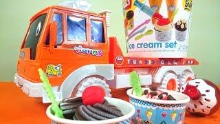 Видео для детей. Готовим Вместе. Мороженое из Пластилина