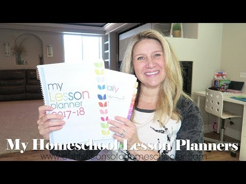 My Daily and Homeschool Lesson Planners