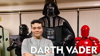 Major unboxing! Life Size Darth Vader Statue by Sideshow Collectibles
