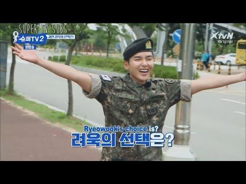 [ENG] Super TV S2 – Which member does Ryeowook hugs after his discharge?
