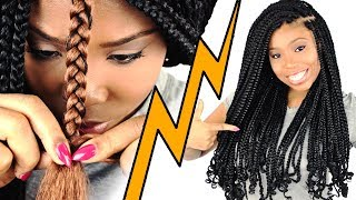 How To: BOX BRAIDS For Beginners! (Step By Step)