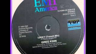 Greg Kihn ‎-- Lucky (Trench Mix) b side 12inch