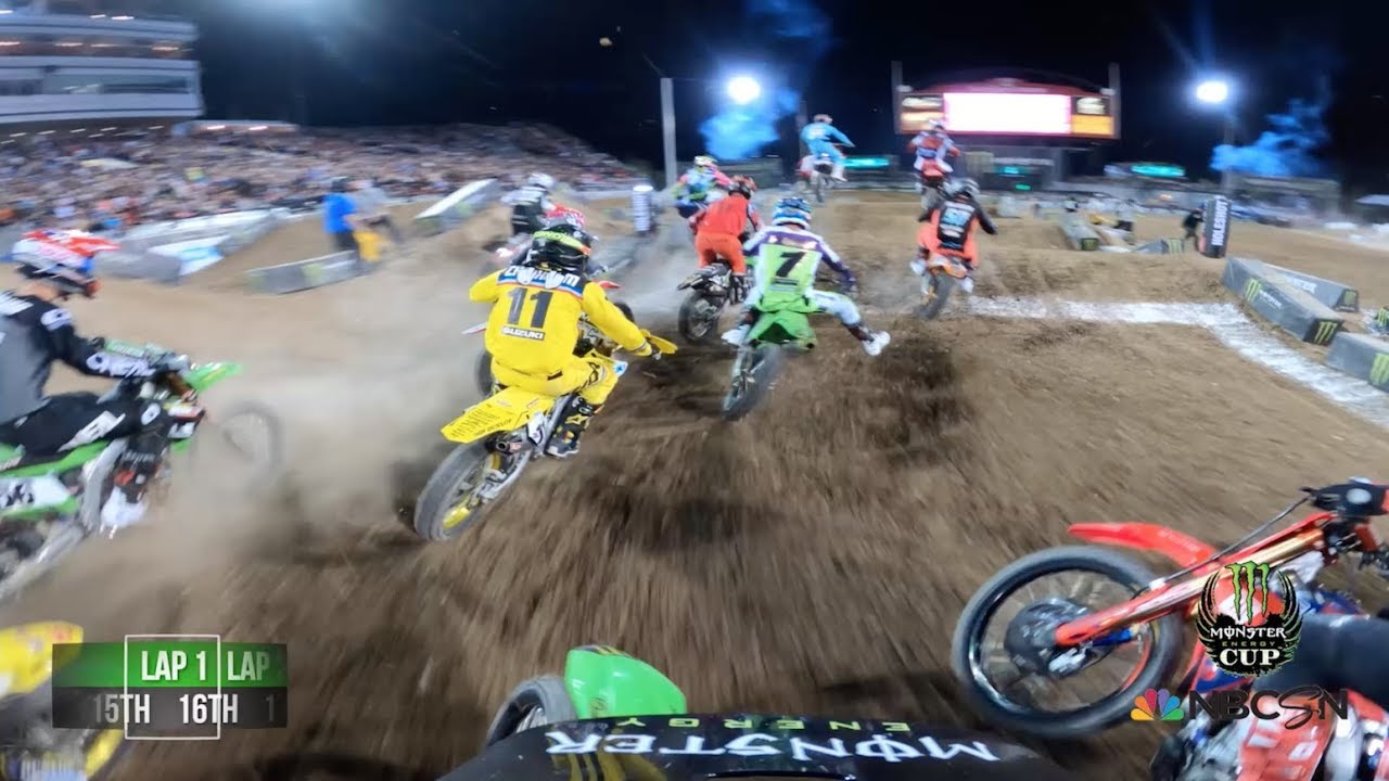 GoPro: Adam Cianciarulo 14th to 2nd - 2019 Monster Energy Cup - Main Event #2 Highlights - Motor Informed