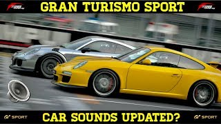 GT Sport - Sound Changes in the New Update?