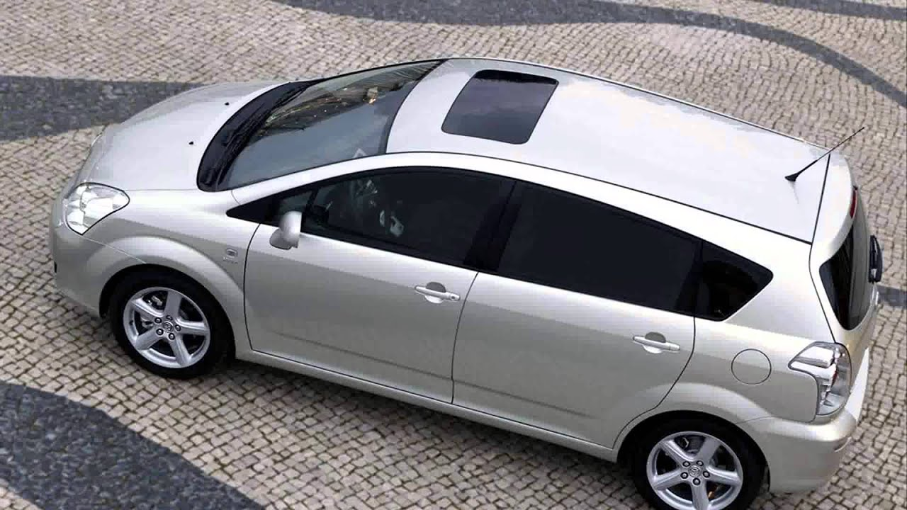 toyota corolla verso tuning - YouTube