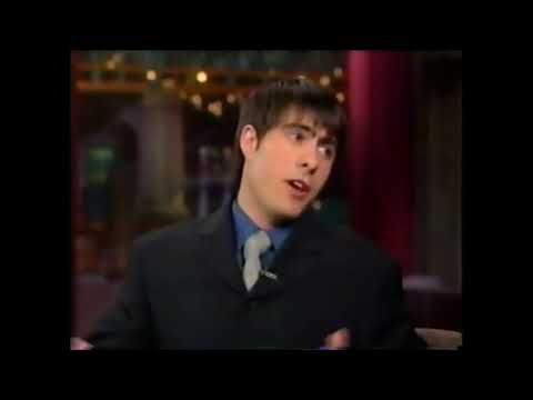 Jason Schwartzman 'David Letterman 1999
