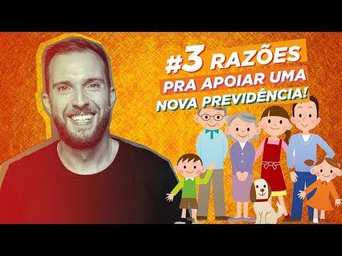 Conheça #3Razões para apoiar uma NOVA PREVIDÊNCIA!