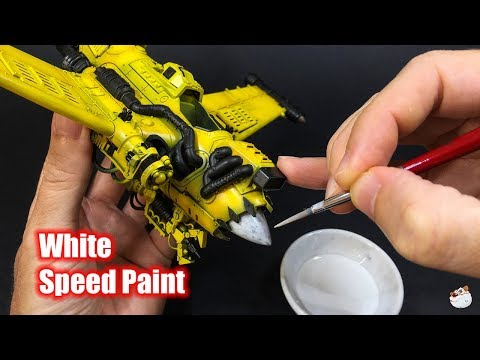 How To Warhammer 40k Easy Speed Painting White By Lincoln Wright