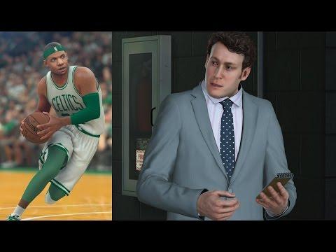 NBA 2K17 PS4 My Career - 1st NBA Game!