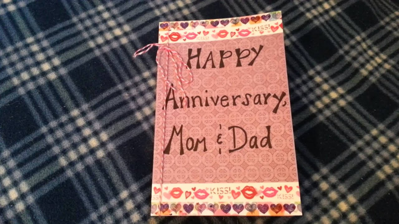 Anniversary cards awesome anniversary card ideas homemade