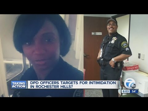 Police officers targeted for intimidation?