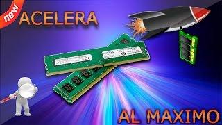 Como Acelerar la Memoria RAM al Máximo - Sin Programas 2016