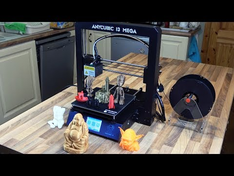 Anycubic I3 MEGA Full Metal Frame FDM 3D Printer Unboxing and Building