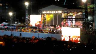 Spain national football team coming on main stage (FULL HD) @ Madrid World Cup 2010 Celebration