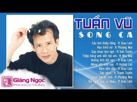 TUẤN VŨ LIÊN KHÚC SONG CA - Sầu Tím Thiệp Hồng | Nhạc Vàng Song Ca Tuấn Vũ Cùng Nhiều Danh Ca Nữ