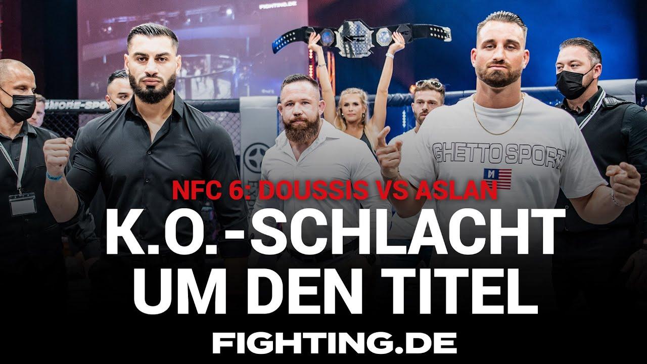 Duell der Knockouter   Doussis vs Aslan   NFC 6   TEASER - FIGHTING