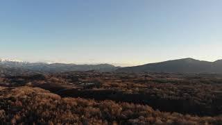 2019年元旦の浅間山と北軽井沢