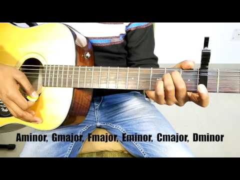 "MERE MEHBOOB - SANAM ""Easy Complete Guitar Cover Lesson/Tutorial"""
