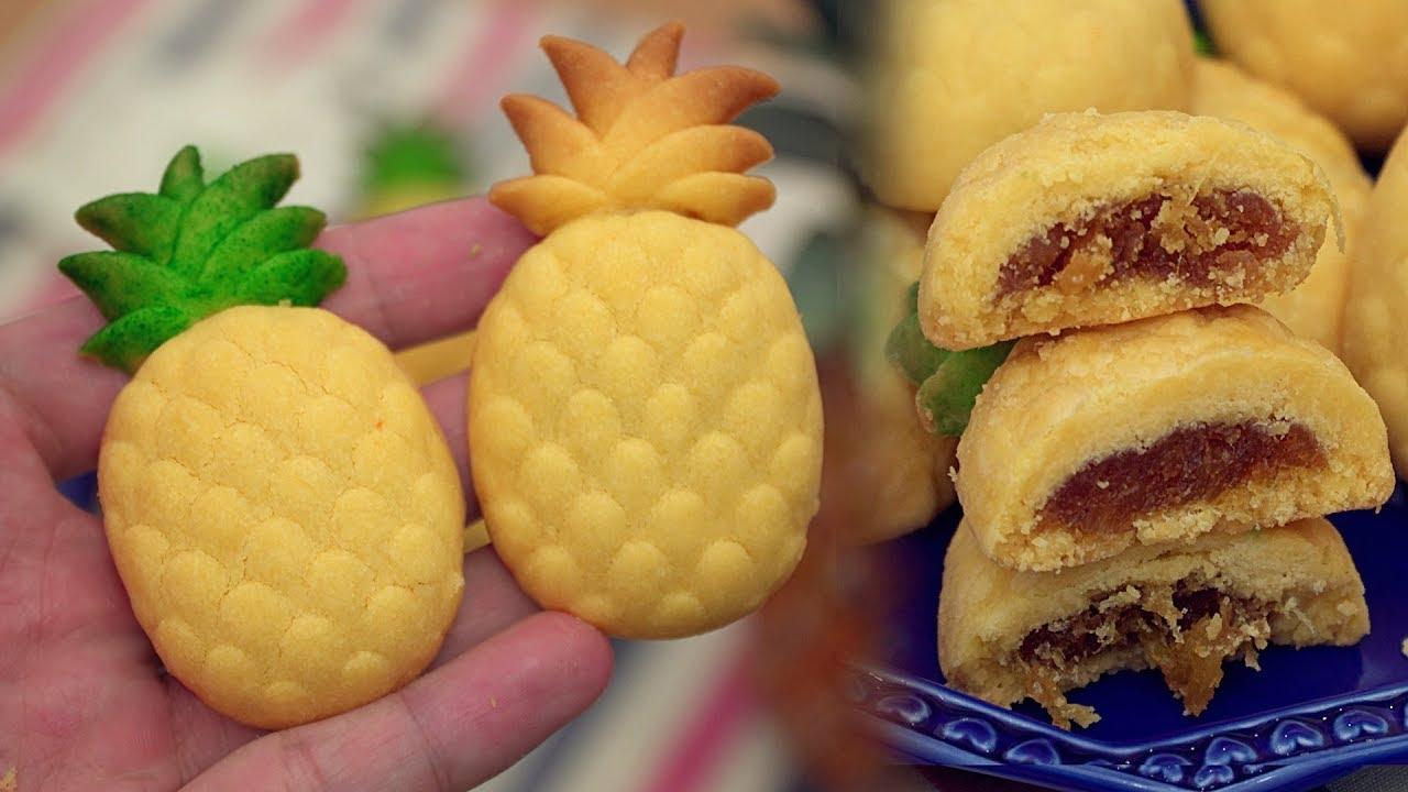 Taiwanese Pineapple Cake - パイナップルケーキ