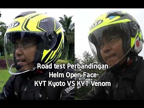 KYT KYOTO VS KYT VENOM Road Test [ TMC VLOG ]