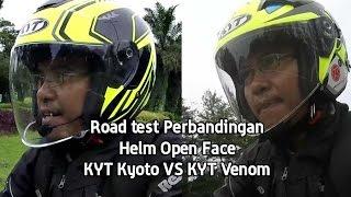 kyt kyoto vs kyt venom road test tmc vlog