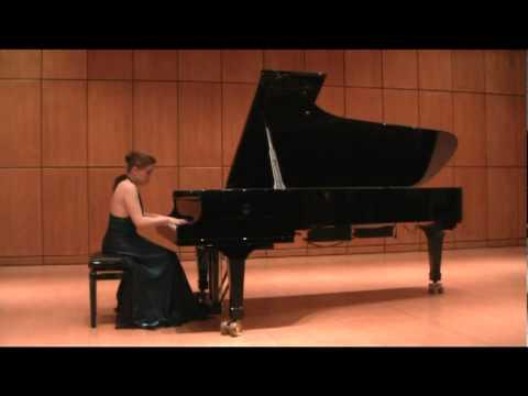 Anna Miernik plays LISZT -- Venezia e Napoli mov 1 Gondoliera