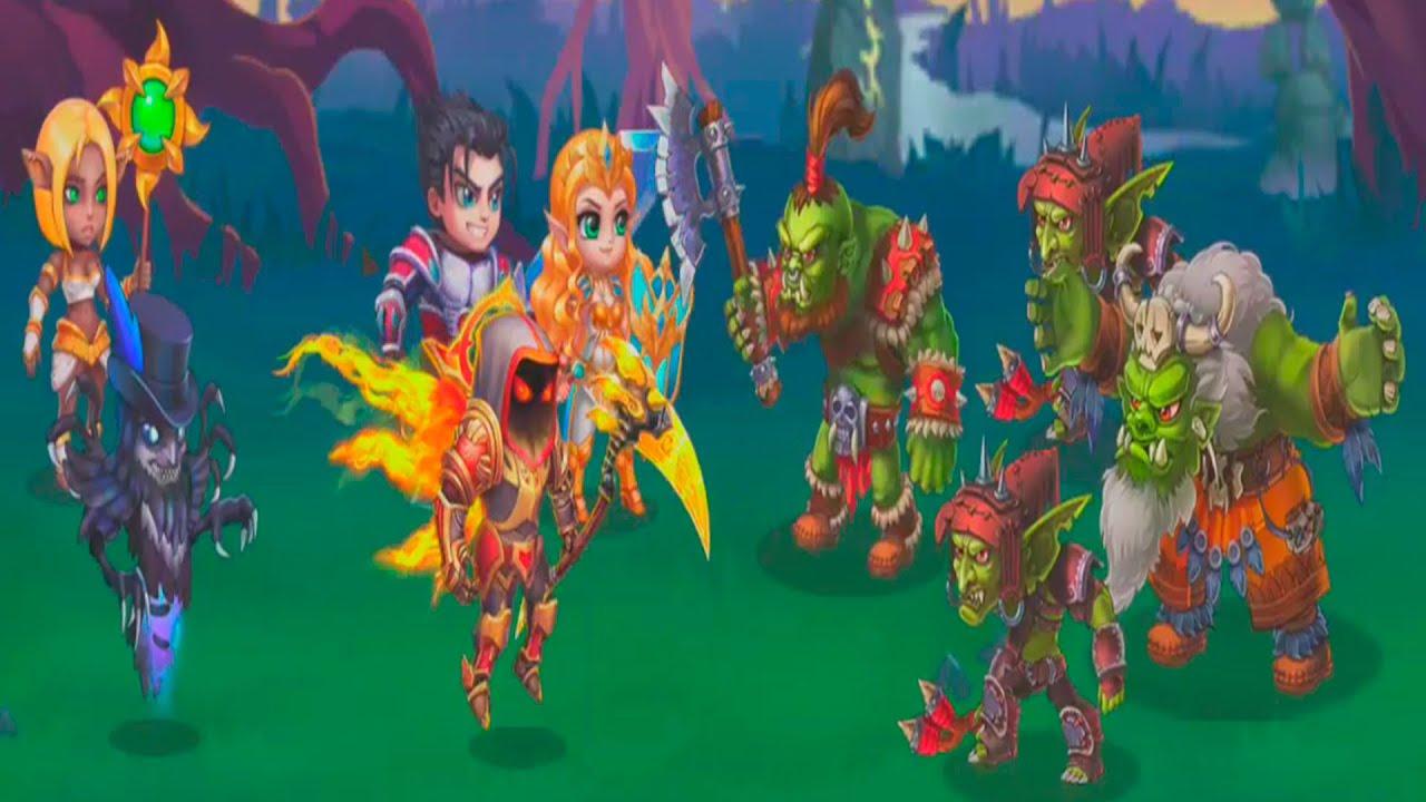 Hero Wars - Hero Fantasy Multiplayer Battles - Gameplay Walkthrough