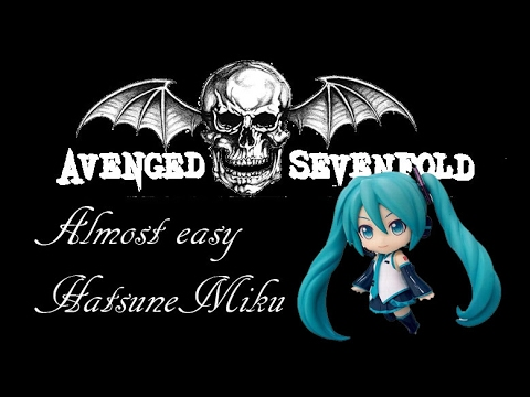vocaloid hatsune mikuavenged sevenfold almost easy