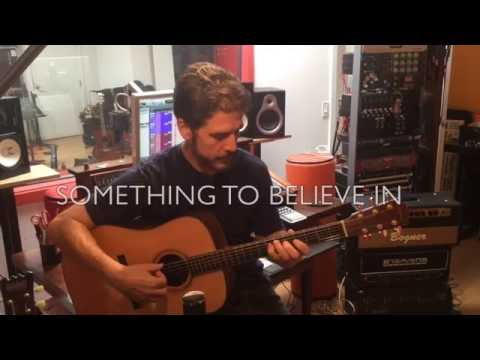 Young the Giant -  Something to Believe In (fingerstyle guitar cover by Buzz Gravelle)