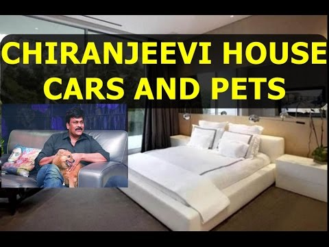 MEGA STAR CHIRANJEEVI HOUSE, OLD HOUSE IN MOGULTHUR , CARS , PETS Part 97