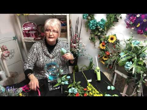 Live Fishbowl Floral Arrangements With Betta Fish