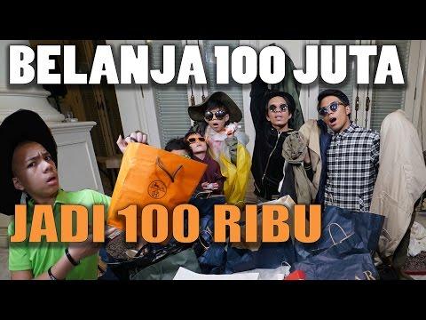 HAUL BELANJA PAKAIAN 100JUTA JADI 100RIBU, TIPS&TRICKS SHOPPING with GEN HALILINTAR BOYS