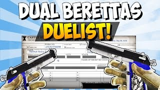 CS:GO - Dual Berettas Duelist Trade Up - Road To Dream Loadout!