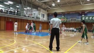 2016/1/10 東京都高校バスケットボール新人戦本大会 (ベスト16決定戦) ...