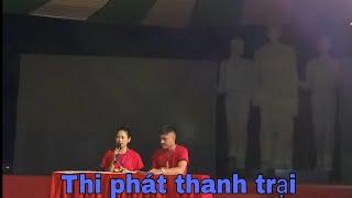 Thi phát thanh trại tại Trại huấn luyện Kỹ năng công tác Đoàn - Đội tỉnh Nghệ An năm 2019!