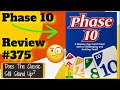 Bower s Game Corner Phase 10 Review
